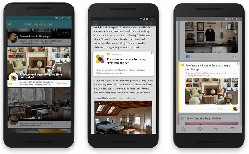 Google veut imposer le format AMP pour les publicités mobile