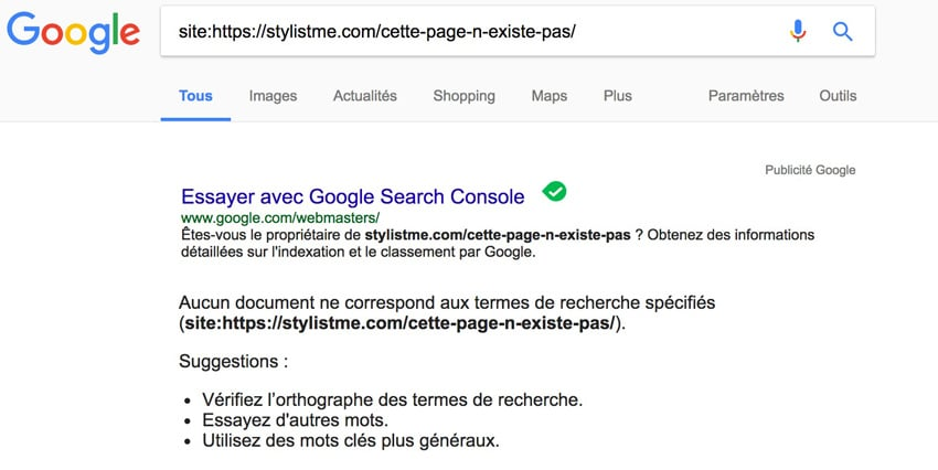 position 0 google commencer par indexer sa page