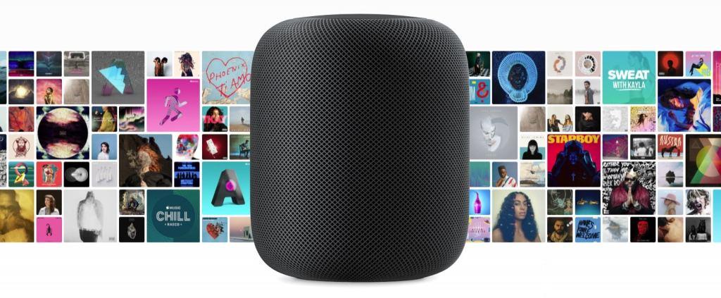 Apple HomePodla plus grande discothèque Apple Music
