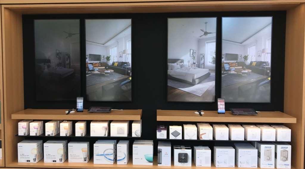 Apple store présente HomeKit avant arrivée HomePod