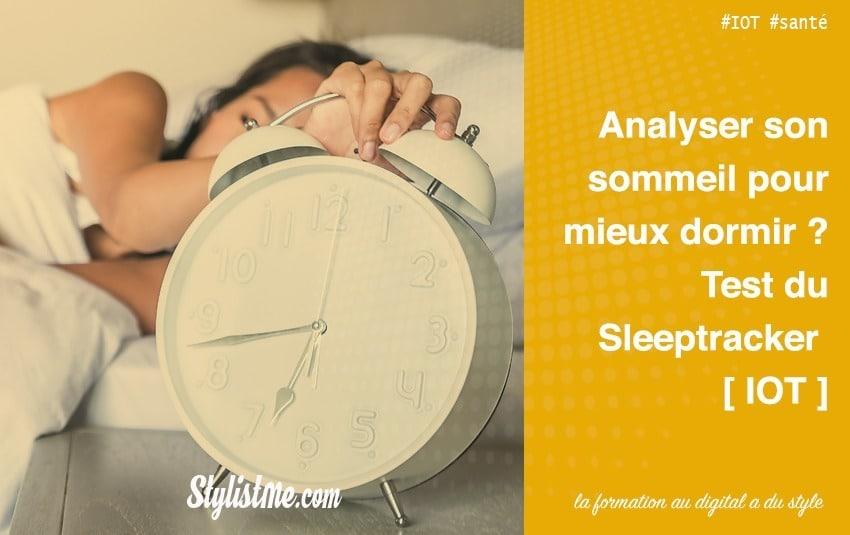 Beautyrest Sleeptracker analyseur de sommeil