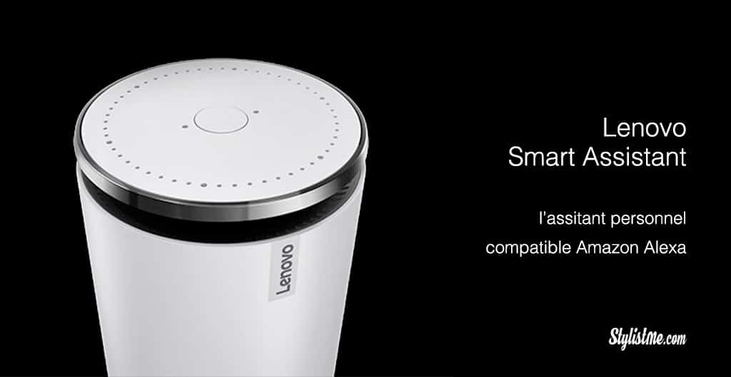 Lenovo-smart-assistant-Amazon Alexa