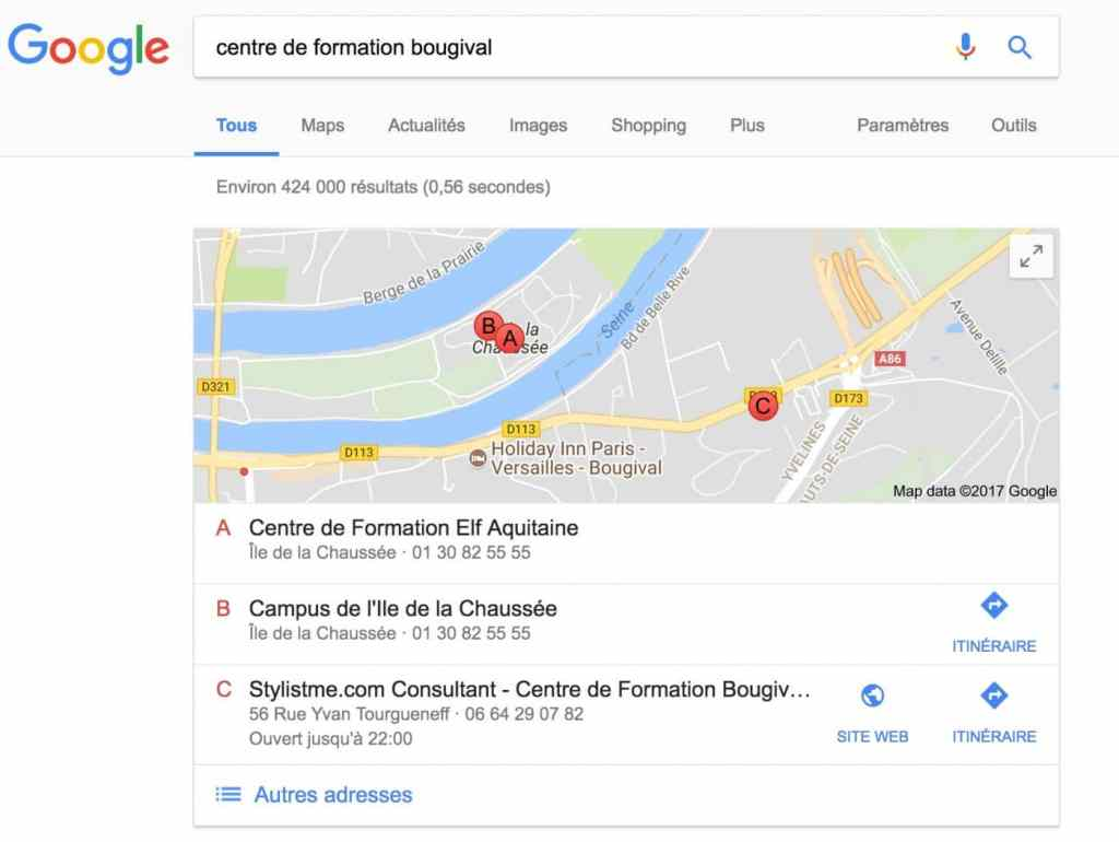 Comment avoir un bon r f rencement local sur google my for Comment obtenir des plans