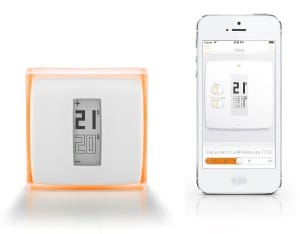 test thermostat connecté netatmo design et application smartphone