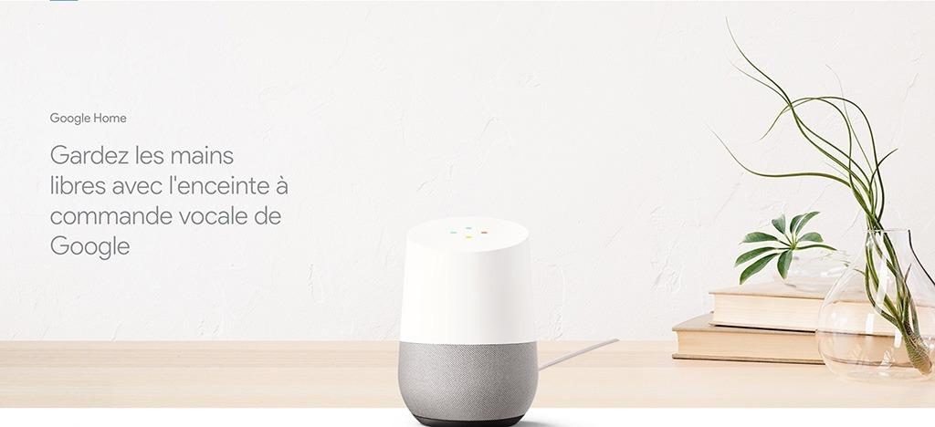 Passer vos appels téléphoniques avec Google Home