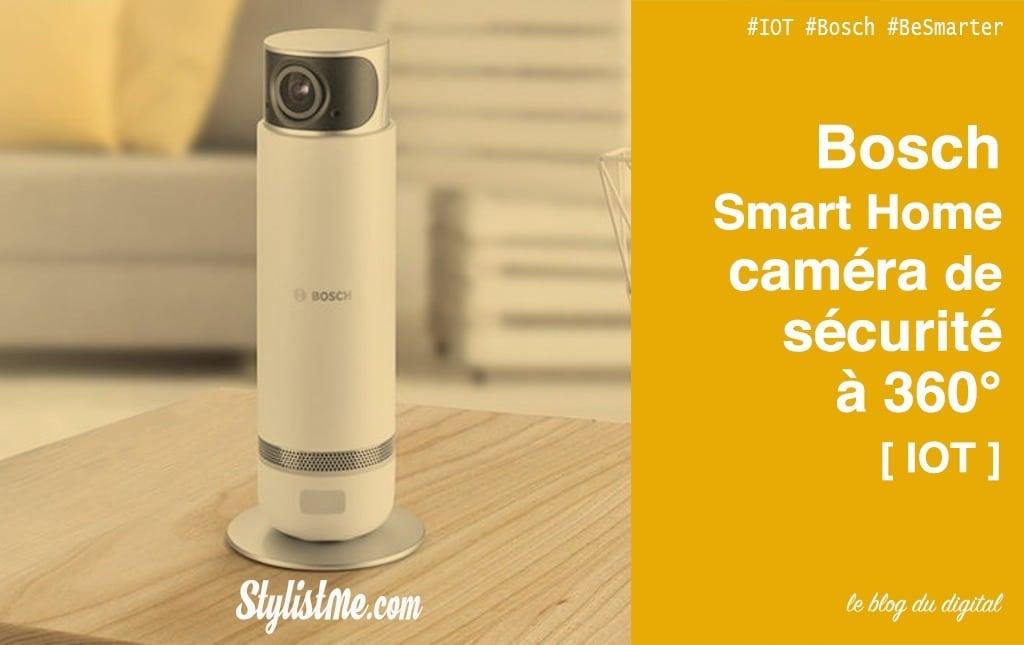 Bosch Smart Home caméra intérieure test avis