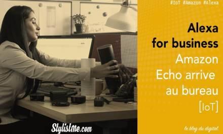 Alexa for business l'enceinte Amazon Echo va au bureau