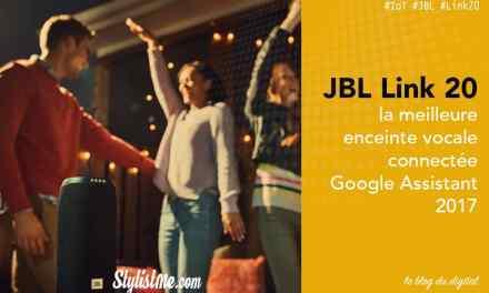 JBL Link 20 avis test enceinte vocale Google Assistant