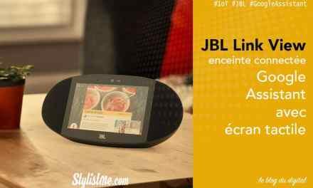 JBL Link View avis test : une Google Home, la vidéo et une caméra en plus !