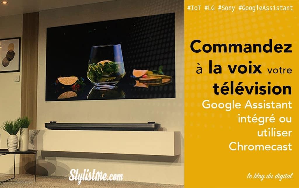 Télévisions avec Google Home intégré