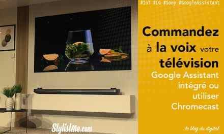 Télévisions avec Google Home intégré : LG, Sony, Sharp, Samsung, Nvidia, Philips