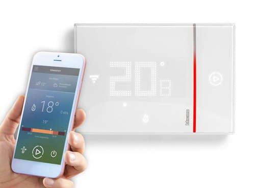thermostat connecté Legrand bticino smarther
