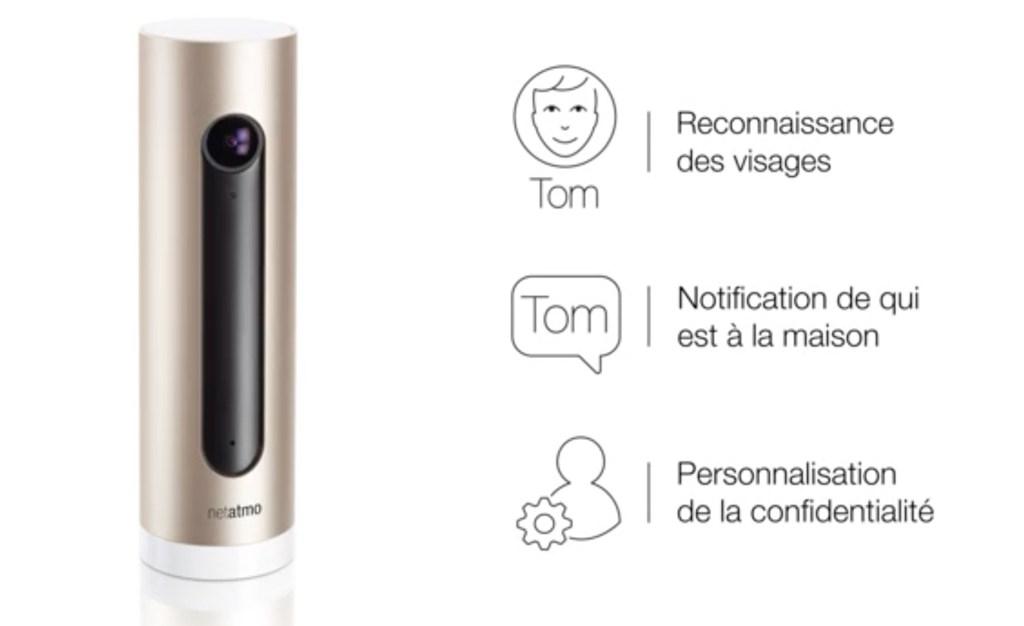 welcome netatmo test avis caméra reconnaissance faciale notification