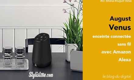 August Venus avis test de l'enceinte connectée sans fil avec Amazon Alexa
