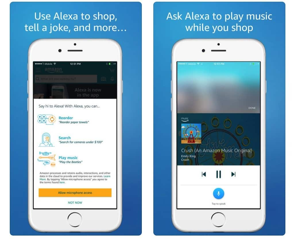 Comment utiliser Amazon Alexa sur iPhone