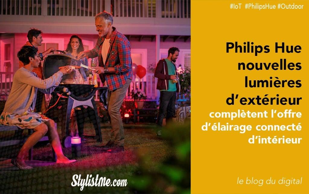 Philips Hue éclairage extérieur
