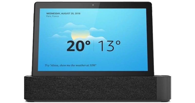 Tablette compatible Alexa integrée