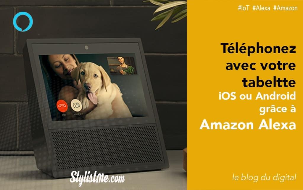 Téléphoner avec Amazon Alexa