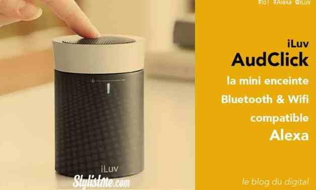 iLuv AudClick avis test enceinte connectée compatible Amazon Alexa