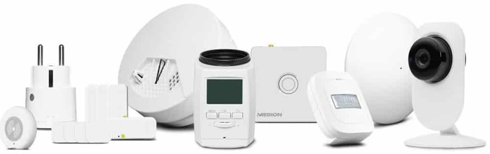 Medion P61110 avis test amazon alexa kit domotique
