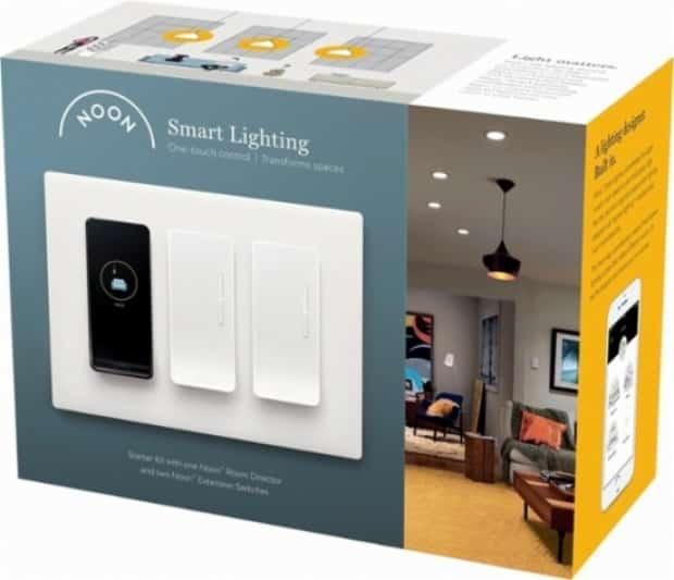 noon home smart lighting test avis unboxing