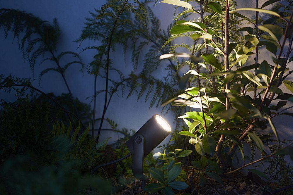 Philips Hue éclairage extérieur spot lily