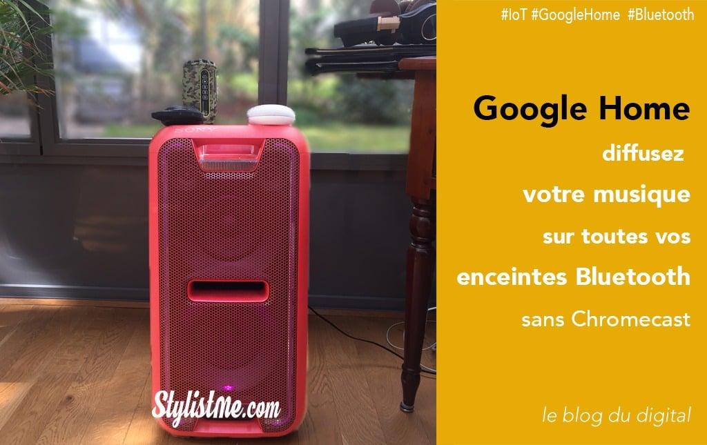 Comment connecter vos enceintes bluetooth à Google Home sans Chromecast