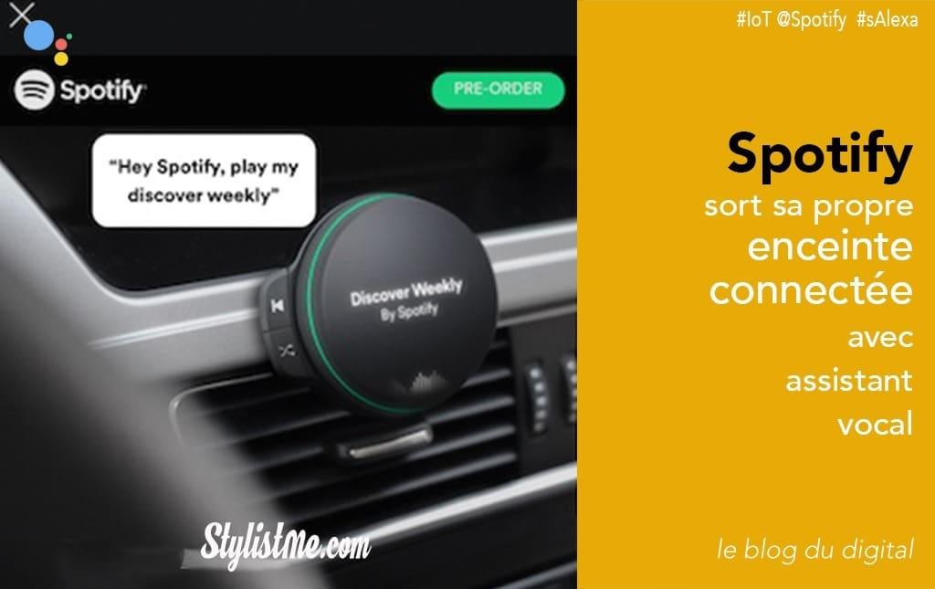 Enceinte connectée Spotify