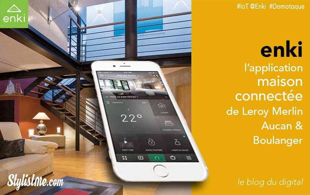 Enki La Maison Connectée Selon Leroy Merlin Auchan Et Boulanger