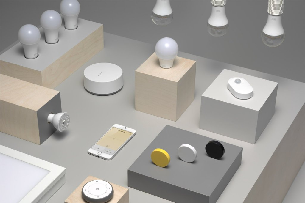 Ikea TRADFRI test avis ampoule connectée Google Home Alexa Apple Homekit