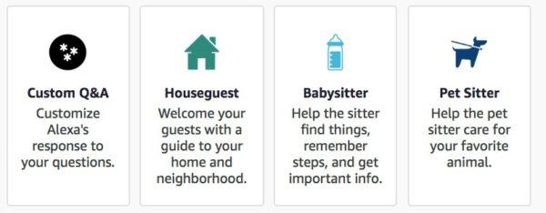 Alexa Blueprint skill maison