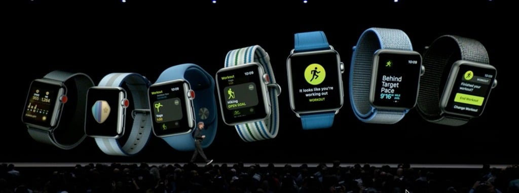 Keynote Apple 2018 WWDC Watch IOS
