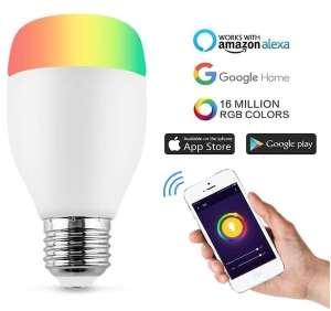 Horsky ampoule connectée pas cher Alexa Google Home