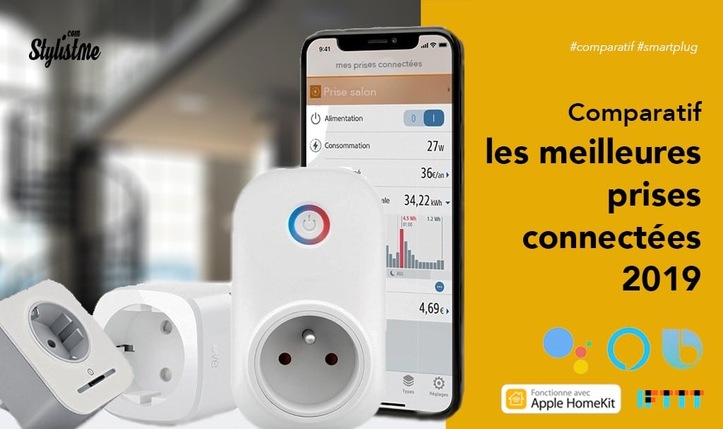 Prise connectée comparatif prix performance compatibilité assistant vocal