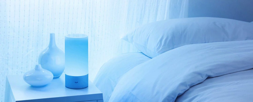 xiaomi compatible google home Mi Bedside lampe