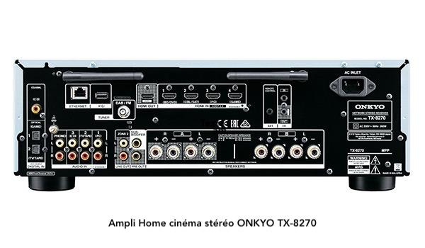 ampli compatible google home onkyo TX-8270