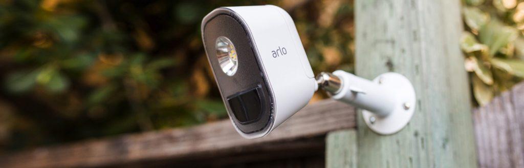 arlo security light avis design