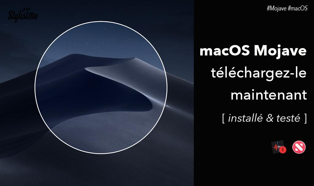 Télécharger et installer macOS Mojave bêta avis et test 🚀
