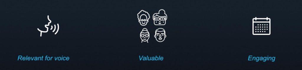 Comment concevoir le design d'une application vocale 3 critères fonctionnalites app vocale