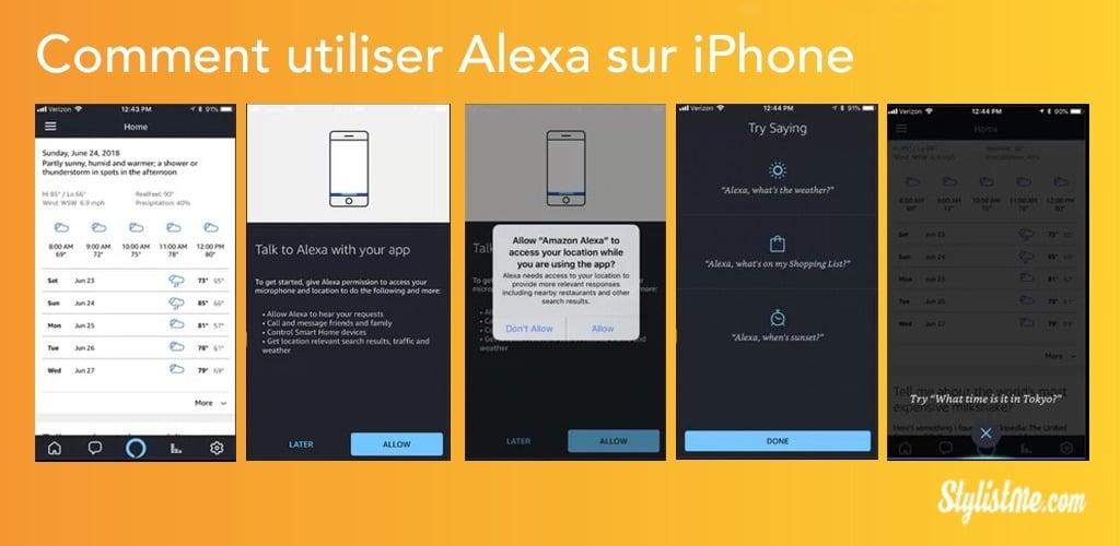 Comment utiliser Alexa avec votre iPhone ou iPad (Alexa iOS) 5 étapes