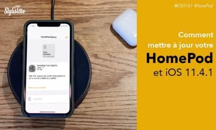HomePod mise à jour 11.4.1 avec l'app Maison et HomeKit