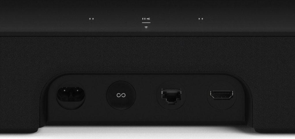 Sonos Beam test avis barre de son avec Alexa et AirPlay connectiques