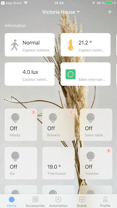 Aqara hub HomeKit pour connecter les objets Xiaomi ajout