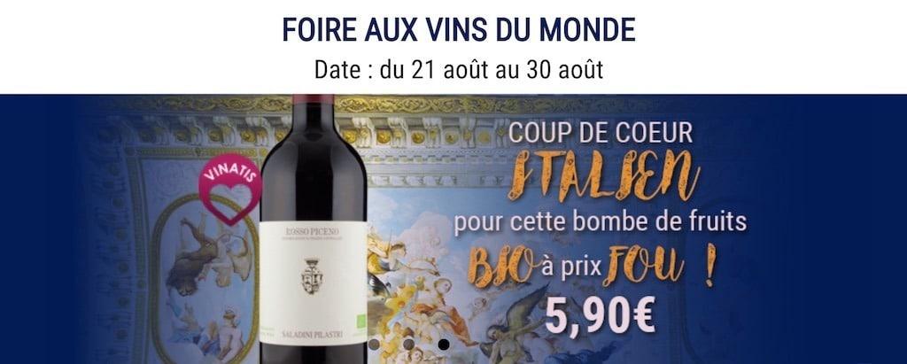 foire aux vins vinatis 2018
