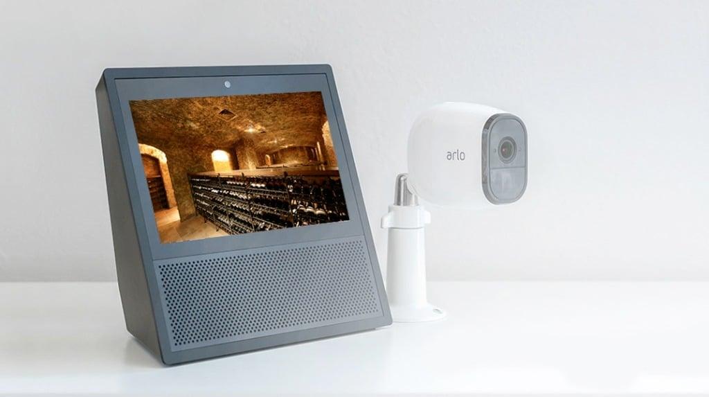 surveiller cave à vin caméra connectée infrarouge