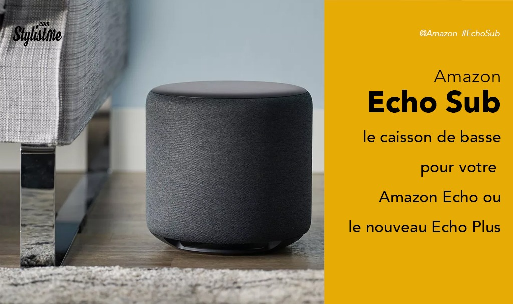 amazon echo sub test avis du caisson de basse pour booster votre echo. Black Bedroom Furniture Sets. Home Design Ideas