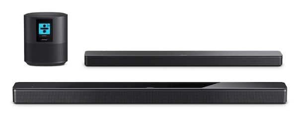 Bose home speaker 500 Bose Soundbar 500 700