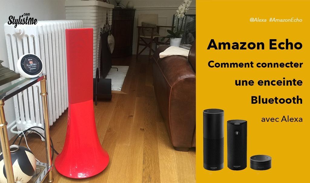Comment connecter une enceinte Bluetooth à Amazon Echo