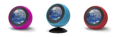 coque Amazon Echo Spot silicone couleur