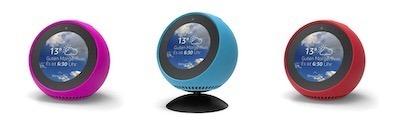 coque Amazon Echo Spot silicone couleur
